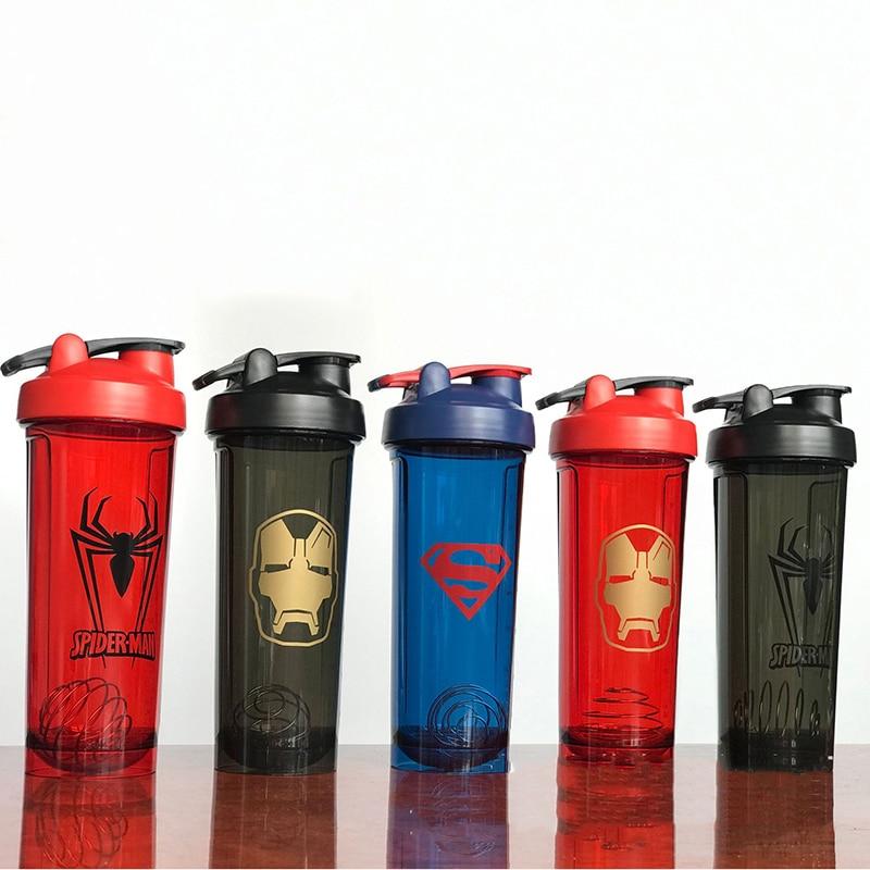 High quanlity Shaker Bottle Sports Whey Protein Powder Mixing Bottle Leak Proof Fitness Water Bottle for