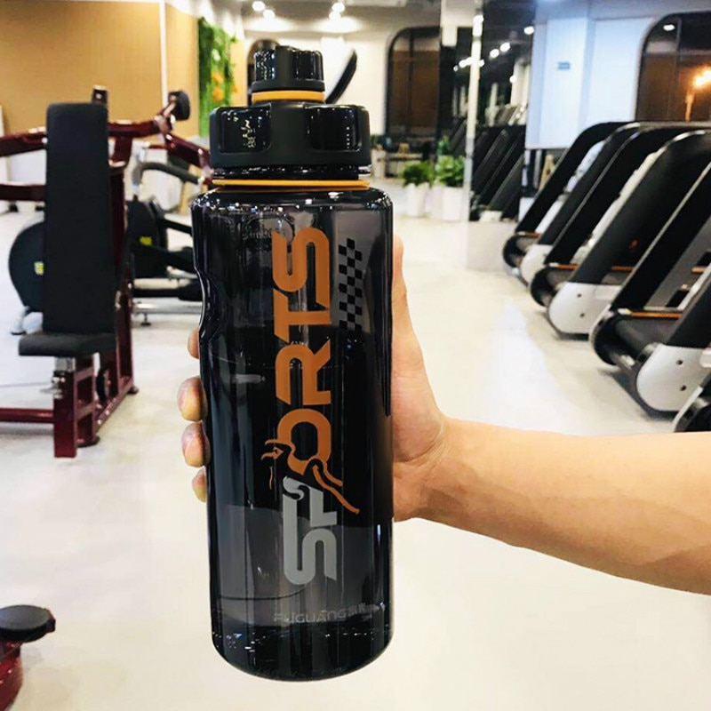 Large Capacity Plastic Water Cup Outdoor Sports Travel Vitamin Infuser Gym Bottle Water Gourde Velo Portable