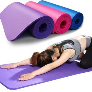 Yoga Mat Anti skid Sports Fitness Mat 3MM 6MM Thick EVA Comfort Foam yoga matt for