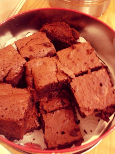 Yummy brownies...