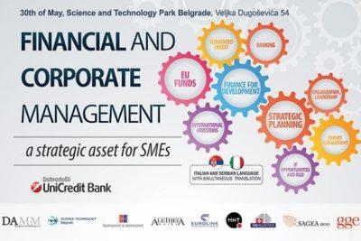 Финансијско и корпоративно управљање стратешким средствима за МСП