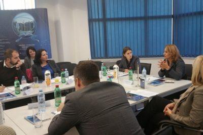 Ministarka Ana Brnabić u poseti NTP Beograd 3