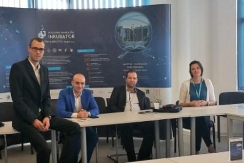Presentation of crowdfunding platform Cadia Startup Exchange 2