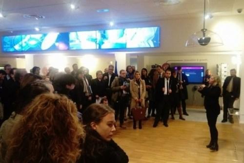 Delegacija NTP Beograd na konferenciji u Italiji 1