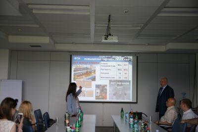 """Delegacija """"VOIR"""" u poseti NTP Beograd"""