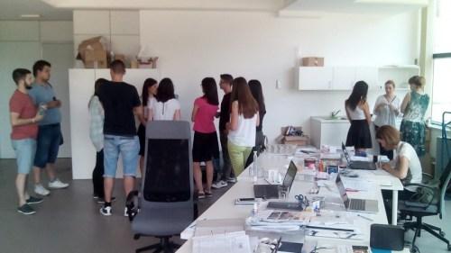 Studenti Farmaceutskog fakulteta posetili NTP Beograd 1