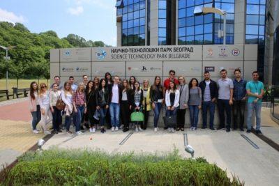 Studenti FON-a u poseti NTP Beograd