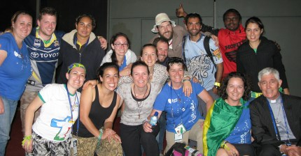 Our pilgrimage group from the Darwin Diocese