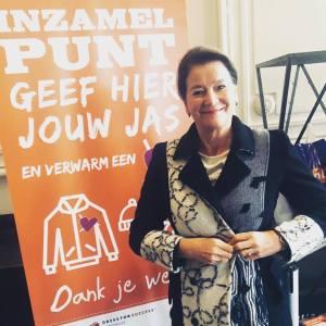 Burgemeester Maastricht doet haar jas uit voor een ander