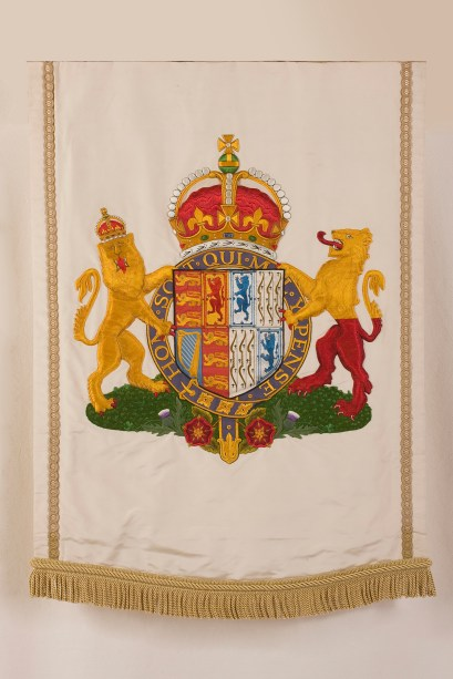 Queen Elizabeth, the Queen Mother banner