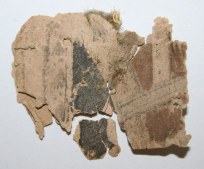 Fragment of playing card. Image ©National Trust