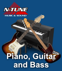 Piano Guitar and Bass