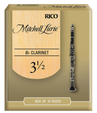 Mitchell Lurie Bb Clarinet Reeds, Strength 3.5