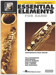 Essential Elements for Band - Bb Bass Clarinet Book 1