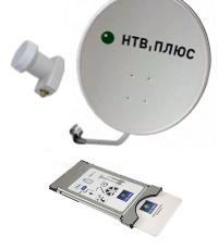 Комплект НТВ с ТВ-модулем CI+