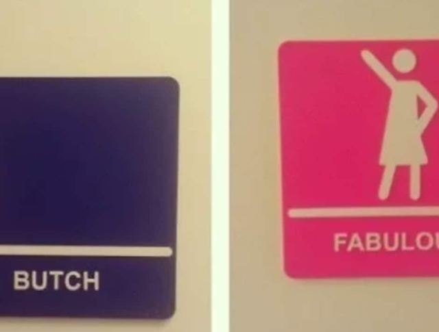 43 Bathroom Signs That Will Really Make You Think... and LOL