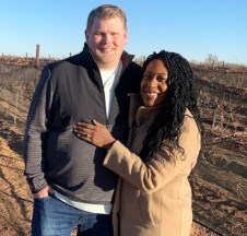 Cheramie Wine owners Todd Aho and Cheramie Law