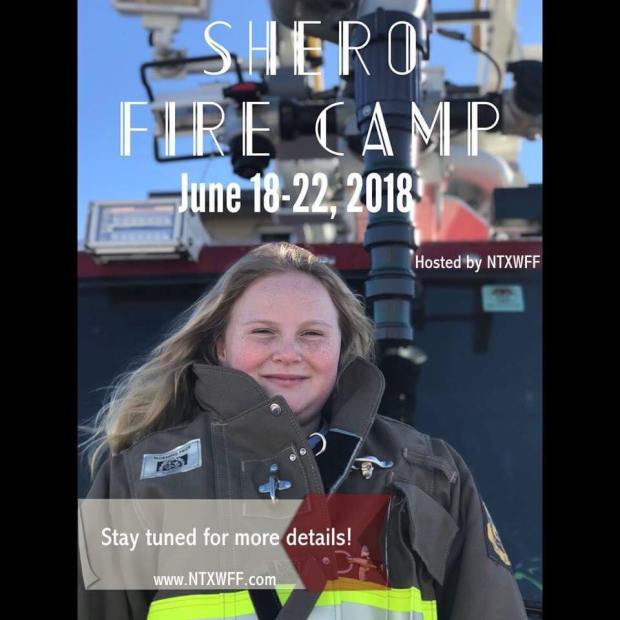 Shero Girls Camp Intro Flyer