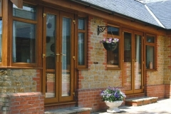 Nu-Eco Windows Double Glazed uPVC French Doors-23