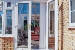 Nu-Eco Windows Double Glazed uPVC French Doors-24