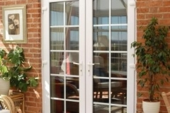 Nu-Eco Windows Double Glazed uPVC French Doors-26