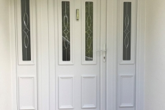 Nu-Eco Windows Double Glazed uPVC Panel front Doors -01
