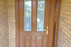 Nu-Eco Windows Double Glazed uPVC Panel front Doors -04