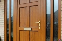 Nu-Eco Windows Double Glazed uPVC Panel front Doors -07