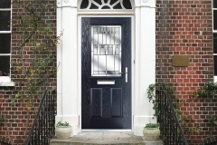 Nu-Eco Windows Double Glazed uPVC Panel front Doors -09