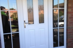 Nu-Eco Windows Double Glazed uPVC Panel front Doors -12