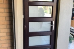 Nu-Eco Windows Double Glazed uPVC Panel front Doors -17