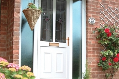 Nu-Eco Windows Double Glazed uPVC Panel front Doors -18