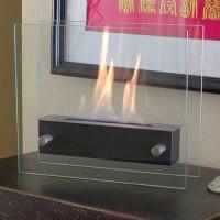 Nu-Flame Irradio Noir Coffee Table top Portable Decorative ...