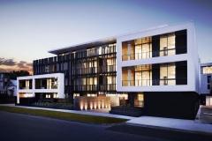 Nu-Lite Balustrtading - Linea Apartments - LU Simon