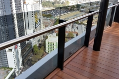 Nu-Lite Balustrading Semi Frameless Commercial Balustrades-07