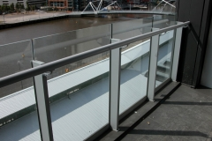 Nu-Lite Balustrading Semi Frameless Commercial Balustrades-12