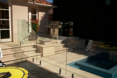 Nu-Lite Balustrading Type 3010 - glass Swimming Pool Fencing-18