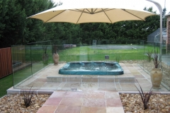 Nu-Lite Balustrading Type 3002 - glass Pool Fencing-23