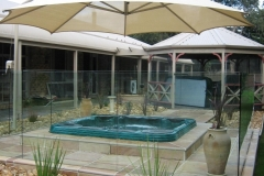 Nu-Lite Balustrading Type 3002 - glass Pool Fencing-24