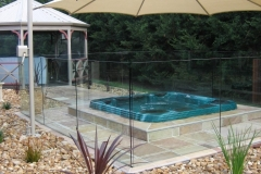 Nu-Lite Balustrading Type 3002 - glass Pool Fencing-25