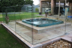 Nu-Lite Balustrading Type 3002 - glass Pool Fencing-26