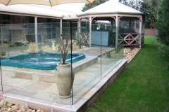 Nu-Lite Balustrading Type 3002 - glass Pool Fencing-27