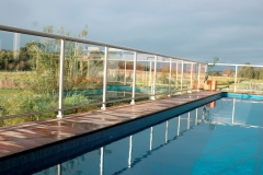 Nu-Lite Balustrading Type 1001- glass swimming pool fencing-06