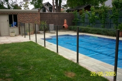 Nu-Lite Balustrading Type 2012- glass Swimming pool fencing-12