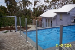 Nu-Lite Balustrading Type 2012- glass Swimming pool fencing-15