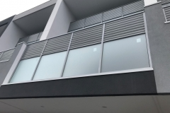 Nu-Lite Balustrading Type 1071 -louvre privacy screen balustrade-01
