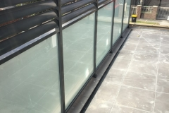 Nu-Lite Balustrading Type 1001- glass privacy screen-12