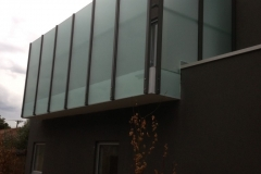 Nu-Lite Balustrading Type 1013-B - glass Privacy Screen-04