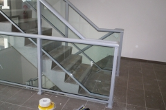 Nu-Lite Balustrading Type Fully Framed  Stair- Glass balustrade-02