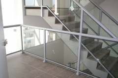 Nu-Lite Balustrading Type Fully Framed  Stair- Glass balustrade-03